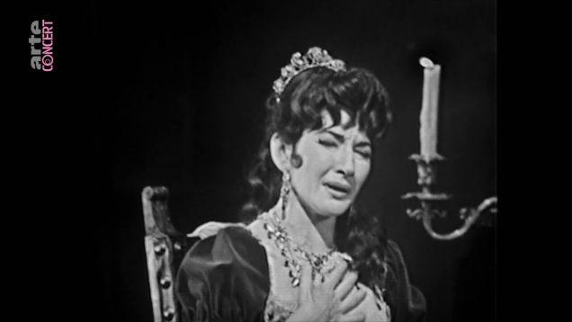 Tosca ROH 1964 Act II Callas Gobbi