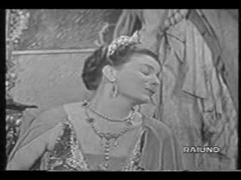 Adriana Lecouvreur Milan 1955 Pobbe  Filacuridi