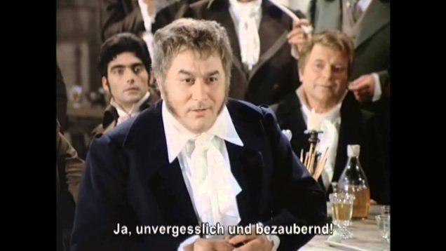 Les Contes d'Hoffmann Movie Berlin 1970 Felsenstein