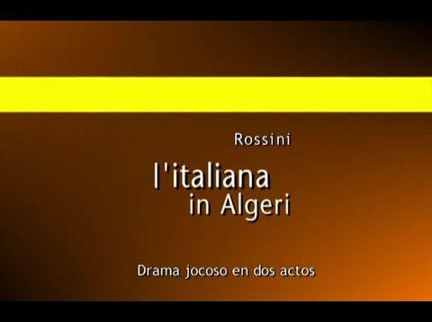 <span>FULL </span>L'Italiana in Algeri Buenos Aires 2003