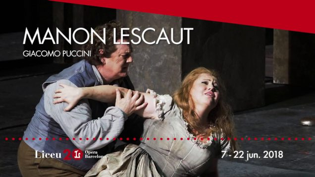 <span>FULL </span>Manon Lescaut Barcelona 2018