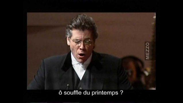 <span>FULL </span>Werther Pari 2006 Baritone Version Hampson Graham Piau