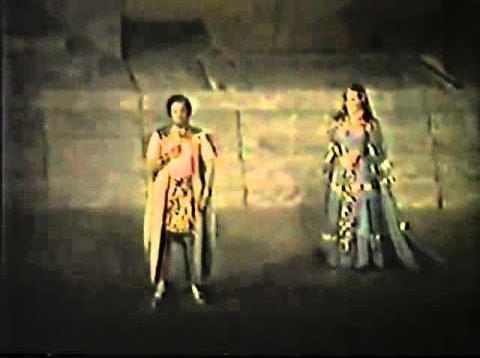 Aida Macerata 1982 Stapp Toczyska Giacomini di Bello