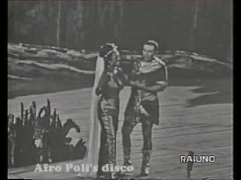 Aida Verona 1963 Serafin  Gencer Limarilli Simionato Guelfi Giaiotti