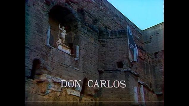 <span>FULL </span>Don Carlo Orange 1984 Aragall Caballe Bruson Bumbry Estes Roni