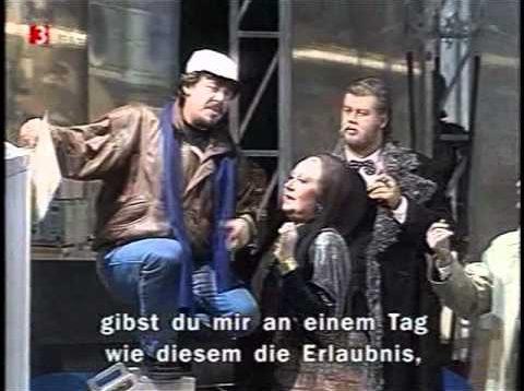 Gianni Schicchi Hamburg 1996 Duesing Dernesch