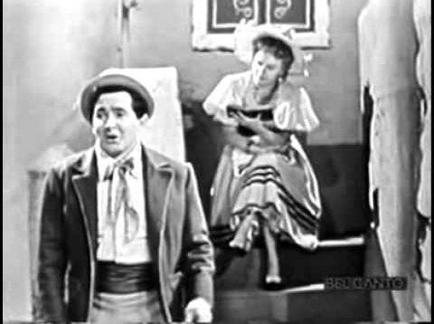 L'elisir d'amore RAI 1953 Taddei Noni Capecchi