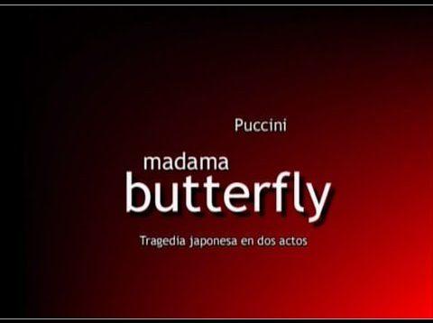 <span>FULL </span>Madama Butterfly Buenos Aires  2003 Schemper Marina Biasotti Bengolea Marandino
