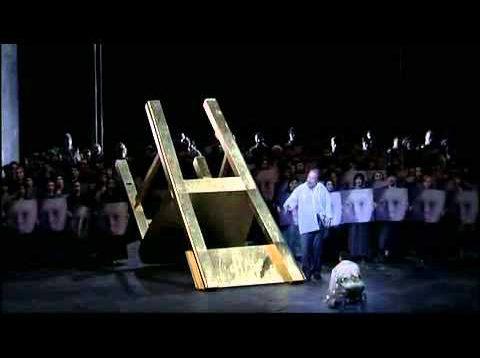 Boris Godunov Barcelona  2004 Salminen Tozsyska Langridge Halfvarson Kotcherga