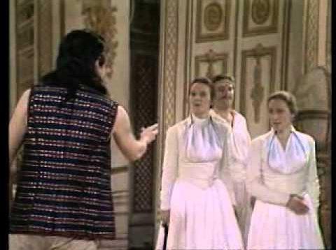 Così fan tutte Drottningholm 1984 Biel Höglind Tibell Florimo
