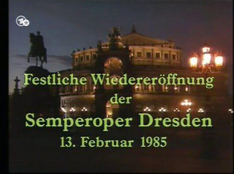 Der Freischütz Dresden 1985 Smitkova Goldberg Ihle Emmerich Wlaschiha