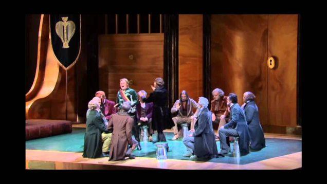 Die Meistersinger von Nürnberg Salzburg  2013 Volle Sacca Werba Gabler