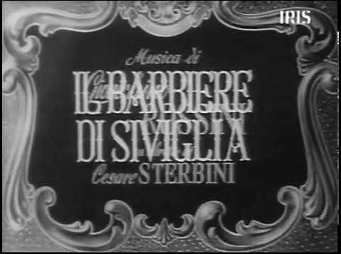 <span>FULL </span>Il barbiere di Siviglia Movie Rome 1946 Tagliavini Gobbi Corradi