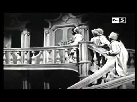 Il matrimonio segreto RAI 1956 Bruscantini Calabrese Vincenzi Salvi Lassandro