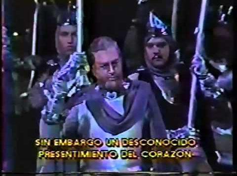 Il Trovatore Santiago 1988 Bartolini Mosca Cossotto Corato