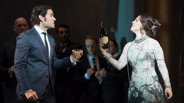 La Traviata Glyndebourne 2014 Gimadieva Fabiano Christoyannis