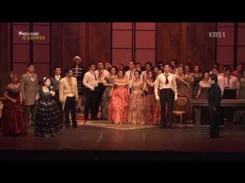 <span>FULL </span>La Traviata Korea Opera Festival 2013  Seung seo Na, Mija Park, Dea San No