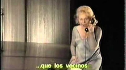 La Voix Humaine Barcelona 1996 Renata Scotto