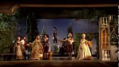 Le nozze di Figaro Salzburg 1991 Marionette Peter Ustinov  Carlo Maria Giulini