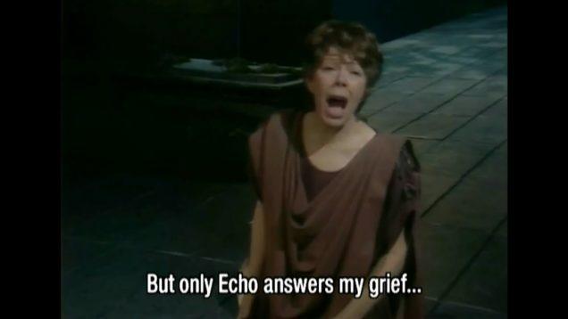 Orfeo ed Euridice Glyndebourne 1982 Janet Baker Speiser Gale