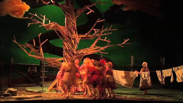 The Cunning Little Vixen Glyndebourne 2012 Crowe Leiferkus Bell