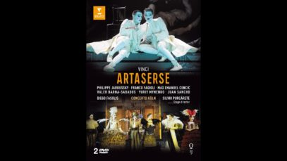 Artaserse (Vinci)  Nancy 2012 Fasolis Cencic Jaroussky