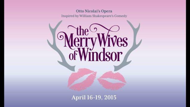 <span>FULL </span>Die lustigen Weiber von Windsor or The Merry Wives of Windsor (Nicolai) Denver 2015