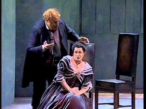 Falstaff (Salieri) Schwetzingen 1995 Del Carlo Ziegler Croft Feller