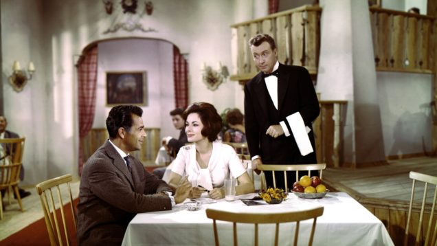 Im weissen Rössl Movie 1960 Peter Alexander Haas Dor