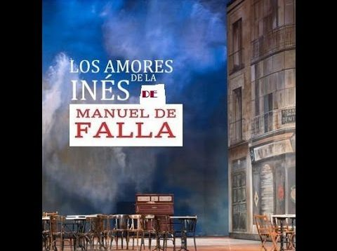 Los amores de la Inés Madrid 2013 Cordon Ferrer Arino Gracia