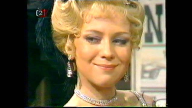 Rose Marie (Friml) Movie Czech TV 1977