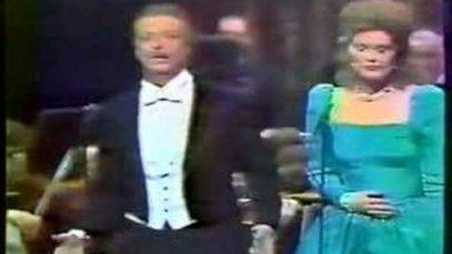 Alfredo Kraus and June Anderson Paris 1987