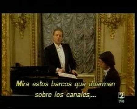 Alfredo Kraus in Concert Madrid 1993