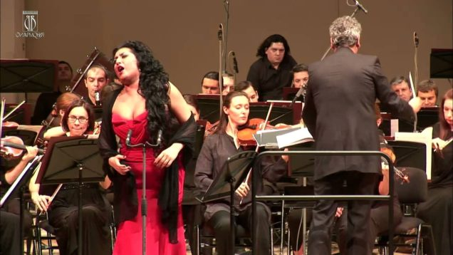 <span>FULL </span>Anita Rachvelishvili in Moscow 2014