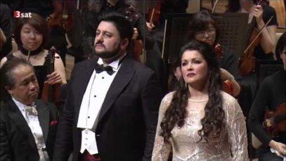Anna Netrebko and Yusif Eyvazov in Tokyo 2016