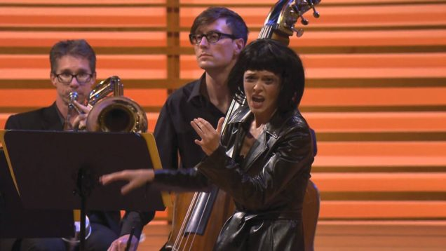 Barbara Hannigan Late Night Lucerne 2014