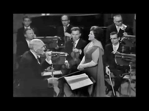 Birgit Nilsson sings Isolde in Vienna 1962 Knappertsbusch