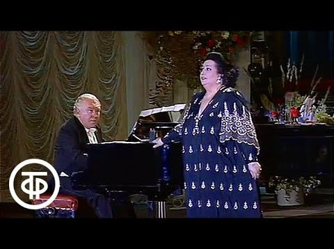 Carreras and Caballe in Moscow 1989