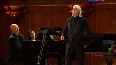Concert in memory of Irina Arkhipova Moscow 2015 Hvorostovsky