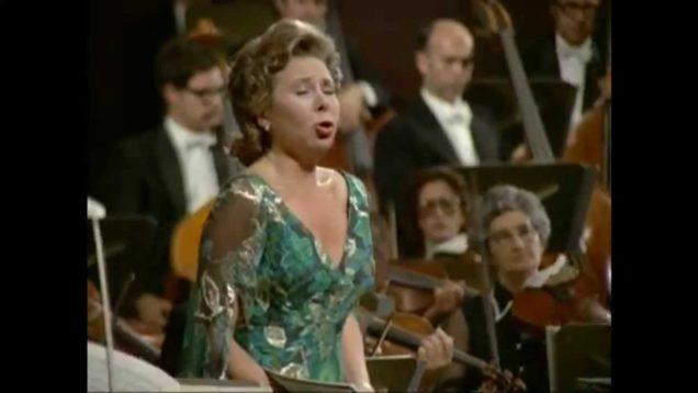Das Lied von der Erde Tel Aviv 1972 Kollo Ludwig Bernstein