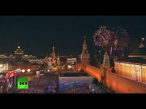 <span>FULL </span>FIFA WorldCup Opening Gala Concert in Moscow 2018 Netrebko Florez Domingo
