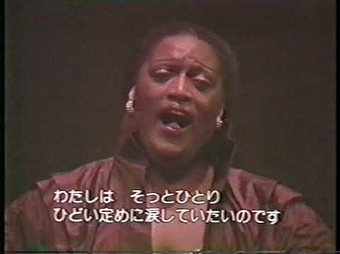 Jessye Norman in Tokyo 1985