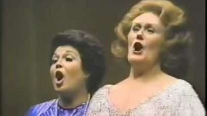 Joan Sutherland and Marilyn Horne live in Lincoln Center New York 1979