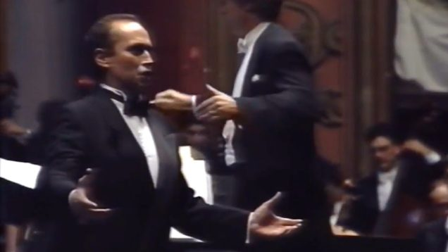 <span>FULL </span>José Carreras Live at the Lisbon Coliseum 1991