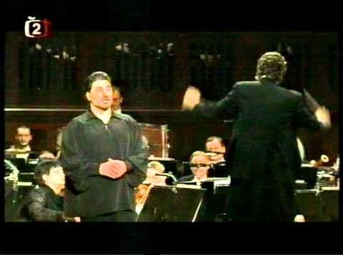 José Cura in Prague 2003