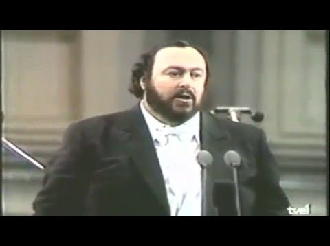 Pavarotti a Pesaro 1986