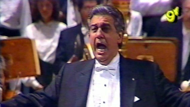 <span>FULL </span>Plácido Domingo en la reinauguración del Teatro Avenida 1994