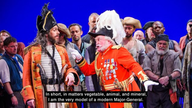 The Pirates of Penzance (Gilbert&Sullivan) London 2015 Shore Bloom Boyle