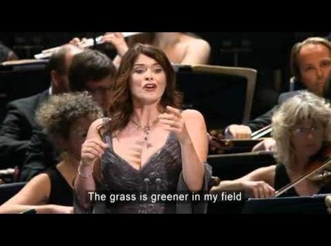 Chants d'Auvergne BBC Proms London 2010 Antonacci