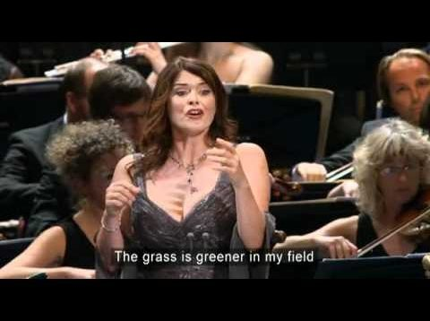 Chants d'Auvergne BBC Proms London 2010 Antonacci